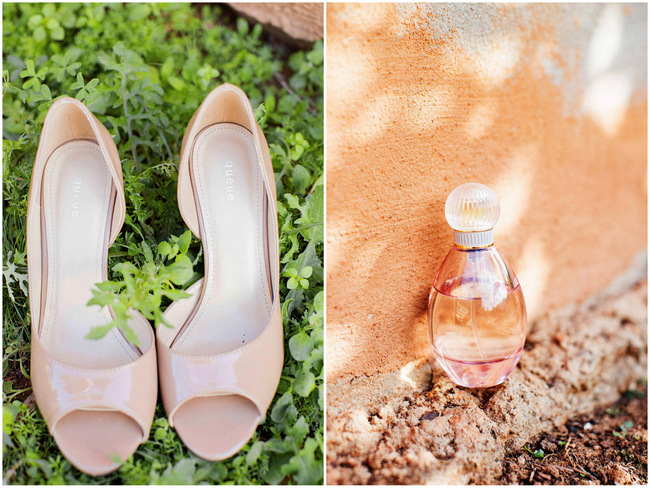 Wedding Shoes // // Rustic South African Farm Wedding in Peach // Marli Koen Photography