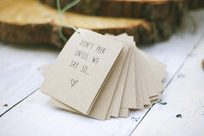 Ceremony Programs // Relaxed, Picnic Style Farm Wedding // Micaela De Freitas Photography