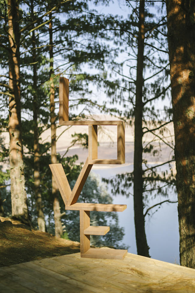 LOVE Shelf // Relaxed, Picnic Style Farm Wedding // Micaela De Freitas Photography