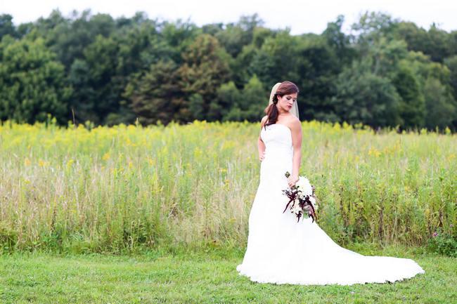 Autumn Barn Wedding Seneca Lewis Photography