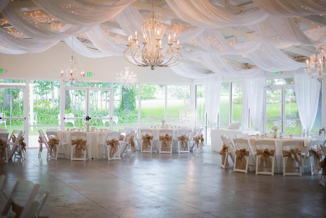DIY Babys Breath Country Wedding // Stephanie Dishman Photography