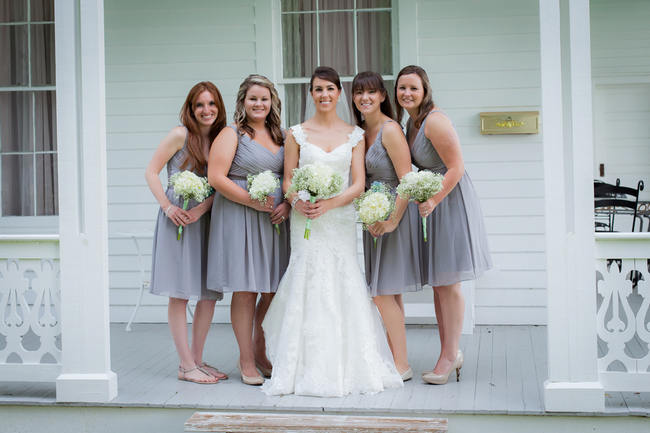 DIY Country Wedding filled with Baby's Breath & Burlap! {Stephanie Dishman Photography}