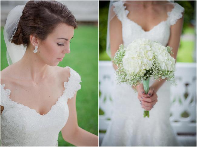 DIY Babys Breath Bouquet -  Country Wedding // Stephanie Dishman Photography