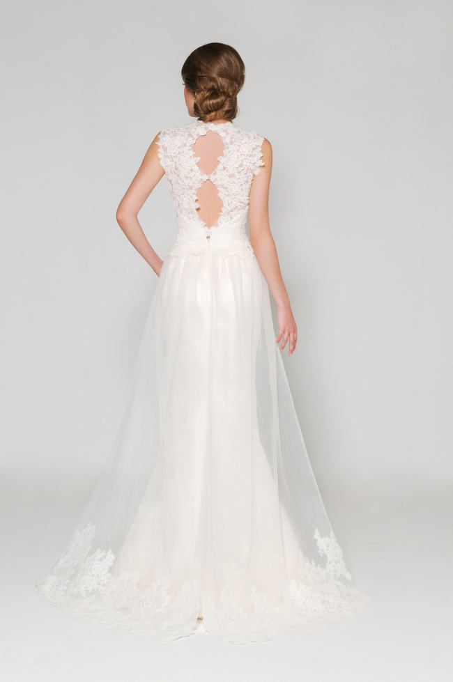 Eugenia Couture Lace Back Wedding Dress (1)