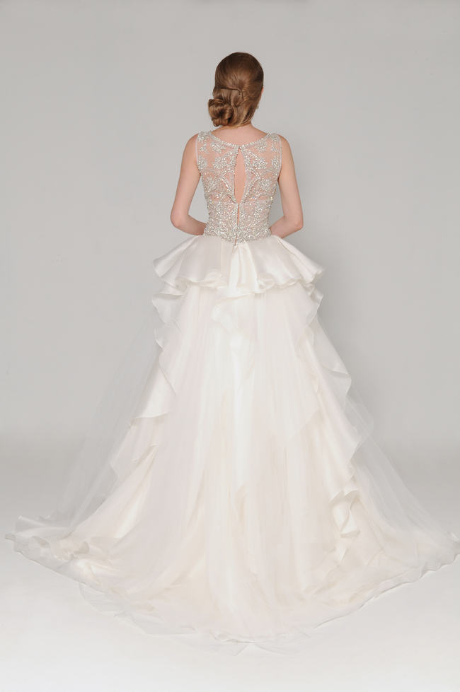 Lace Back Wedding Dress (12)