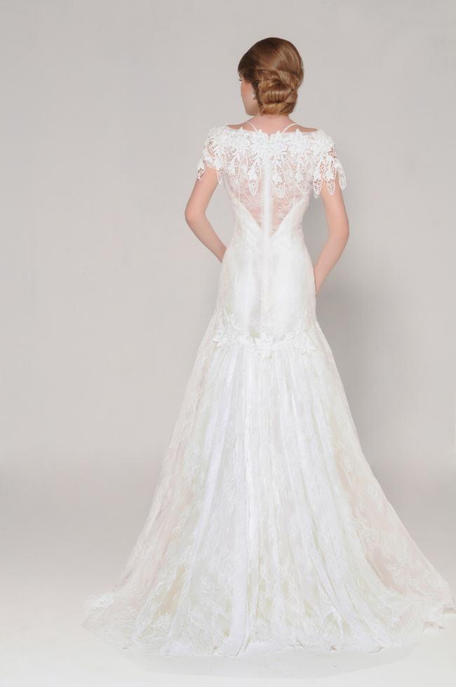 Lace Back Wedding Dress (16)