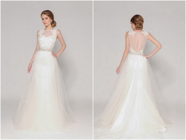 Lace Back Wedding Dress (19)