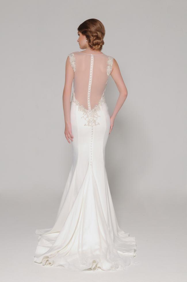 Lace Back Wedding Dress (8)