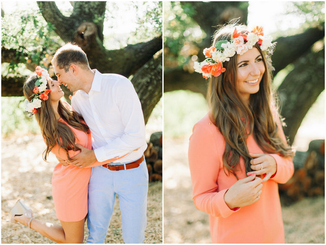 Blissfully Beautiful Napa Valley Couple Shoot {Your Dream Photo}