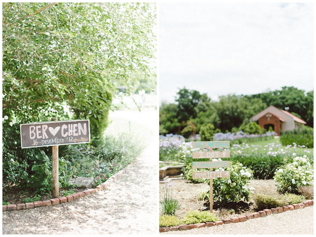 Wedding Ceremony chalkboard signs // Mint Coral South African Wedding // Louise Vorster Photography