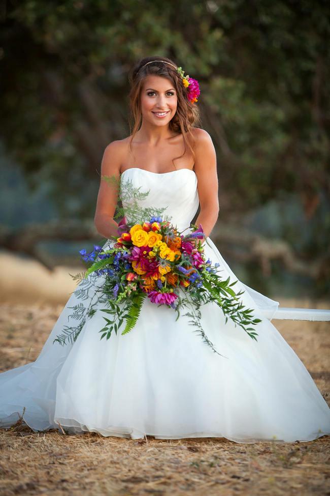Tropical Flowers // Tropical Wedding Ideas // Colson Griffith Photography