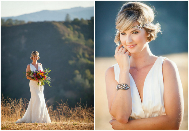 Bright and Bold California Bridal Style // Colson Griffith Photography