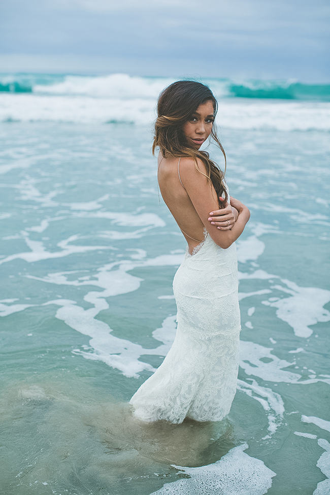 Backless Beach Wedding Dress 22