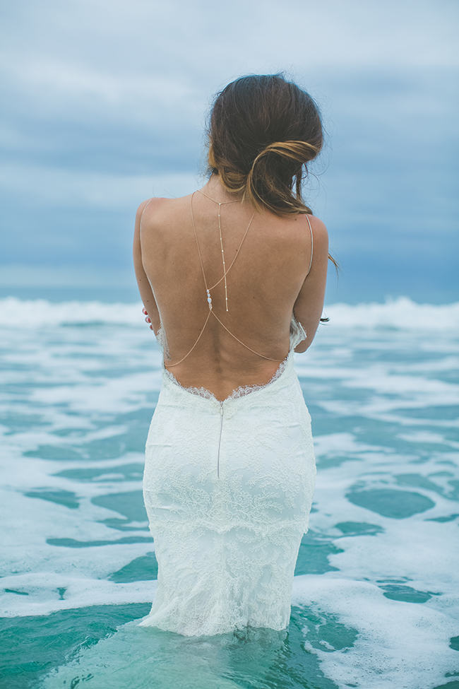 Backless Beach Wedding Dress 23