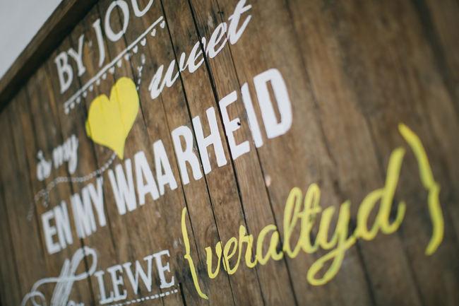 Beautiful Gray and Yellow Rustic Winter Wedding Reception Decor / Jenni Elizabeth Photography
