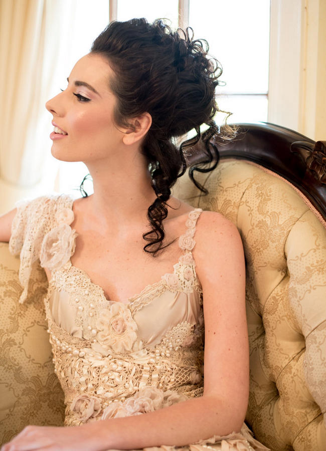 Vintage Marie Antoinette Wedding / Ninique Fashion Photography
