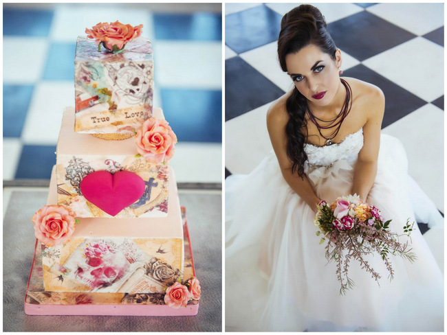 Rockabilly Wedding Ideas by Celeste Styled Events {Claire Thomson Photography}