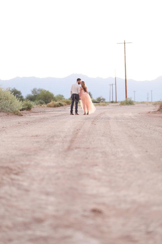 Whimsical Arizona Desert Engagement Photo Shoot Ideas // Morgan McLane Photography