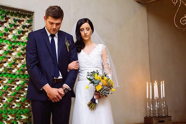 Yellow and Grey DIY Vintage Wedding // Miracles Photo
