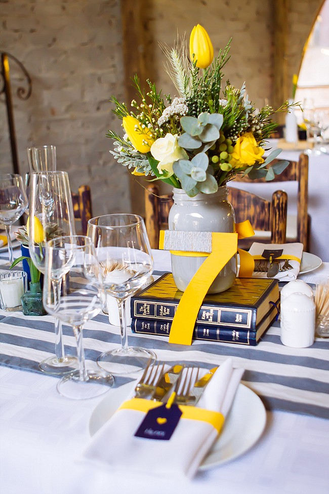 yellow and gray wedding decorations yellow navy and grey diy vintage wedding miracles 1506