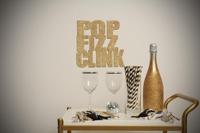 DIY New Years Party Ideas Gold (6)