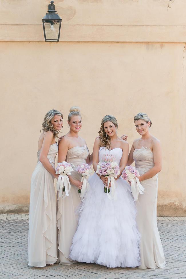 Pink Cream Protea Wedding (4)