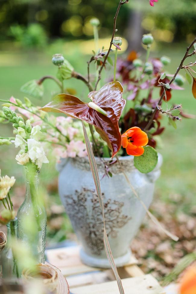 Rustic Garden Picnic Wedding // Nikki Meyer Photography