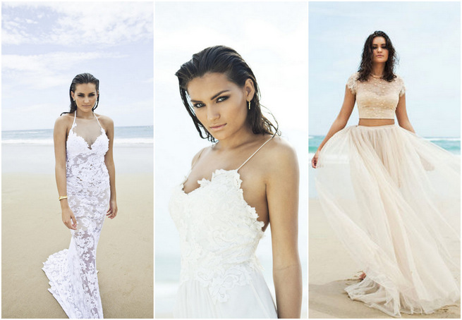 Ethereal Beach Wedding Dresses {Grace Loves Lace}