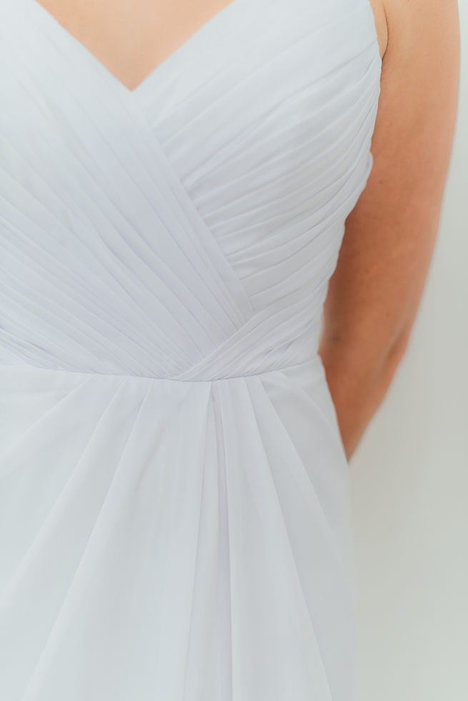 Ruffled tulle, sweetheart neckline, strapless wedding dress from Blush Bridal // Dehan Engelbrecht Photography