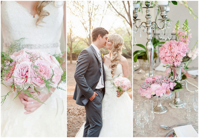 Super Romantic Blush Pink Spring Wedding {D'amor Photography}