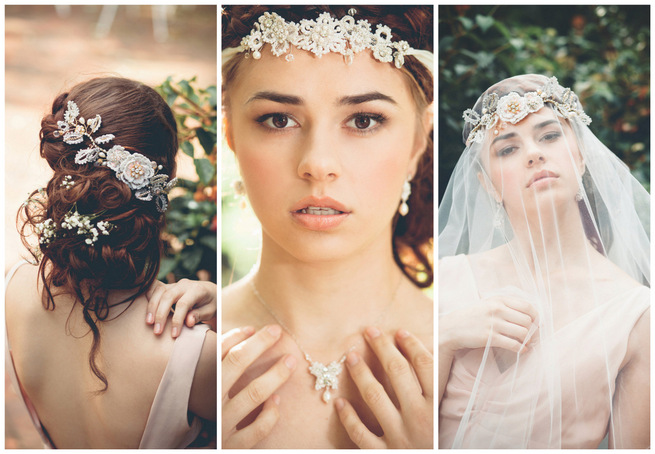 Bohemian Wedding Jewelry by Edera Jewelry {La Candella Weddings }