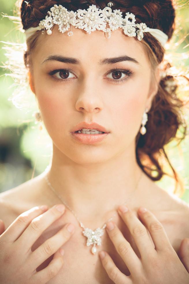 Luxe Handcrafted Heirloom Wedding Jewelry by Edera Jewelry // La Candella Weddings Photography
