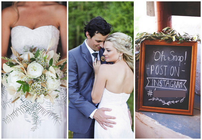 Green and White Rustic South African Wedding { Justin Davis Photography}