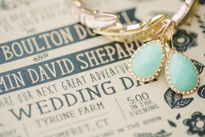Mint Navy DIY Farm Wedding (40)