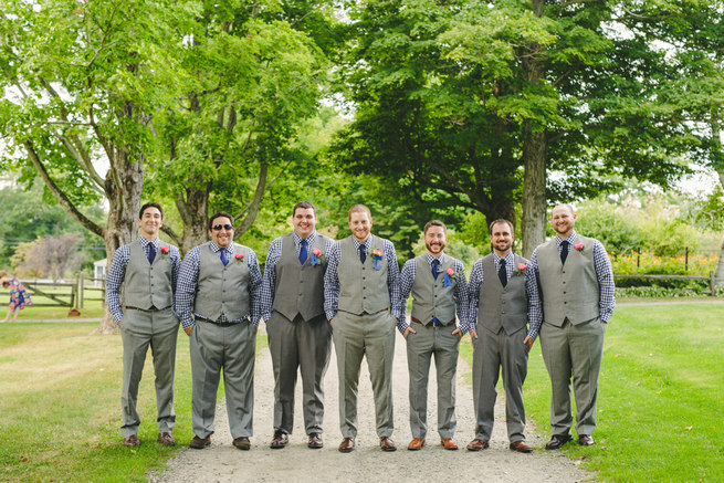 Mint Navy DIY Farm Wedding (61)
