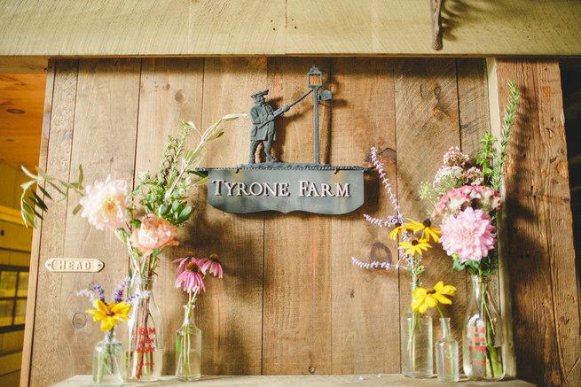 Mint Navy DIY Farm Wedding (69)