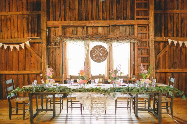 Mint Navy DIY Farm Wedding (70)
