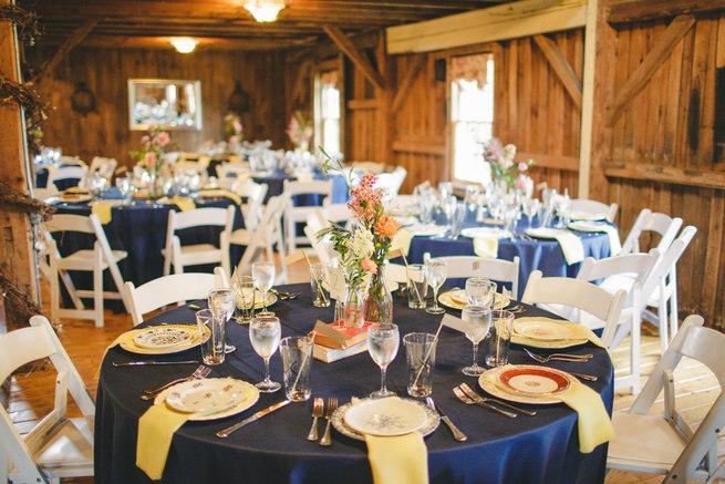 Mint Navy DIY Farm Wedding (73)