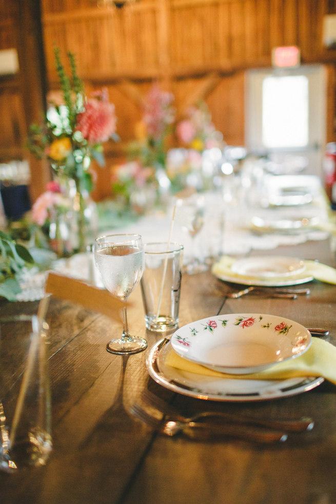 Mint Navy DIY Farm Wedding (75)