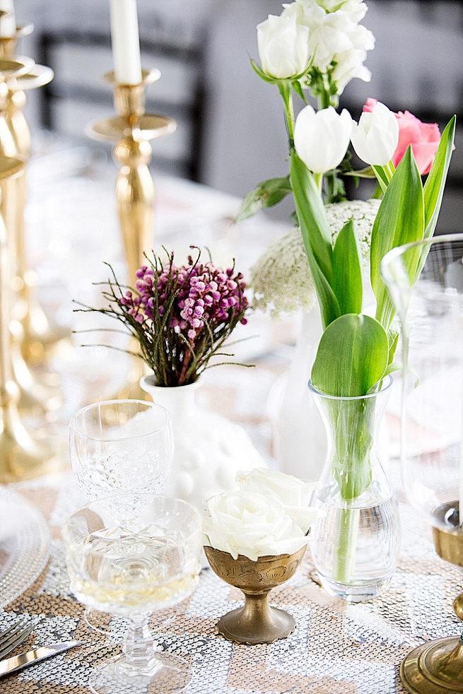Soft Pink Gold Wedding 20