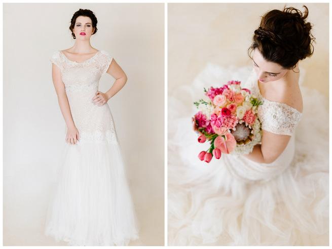Delicate Alana van Heerden Wedding Dresses {Debbie Lourens Photography}