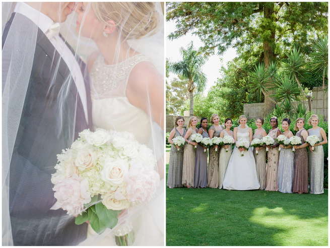 Chic & Glamorous Gatsby-Inspired Wedding {Elyse Hall Photography}