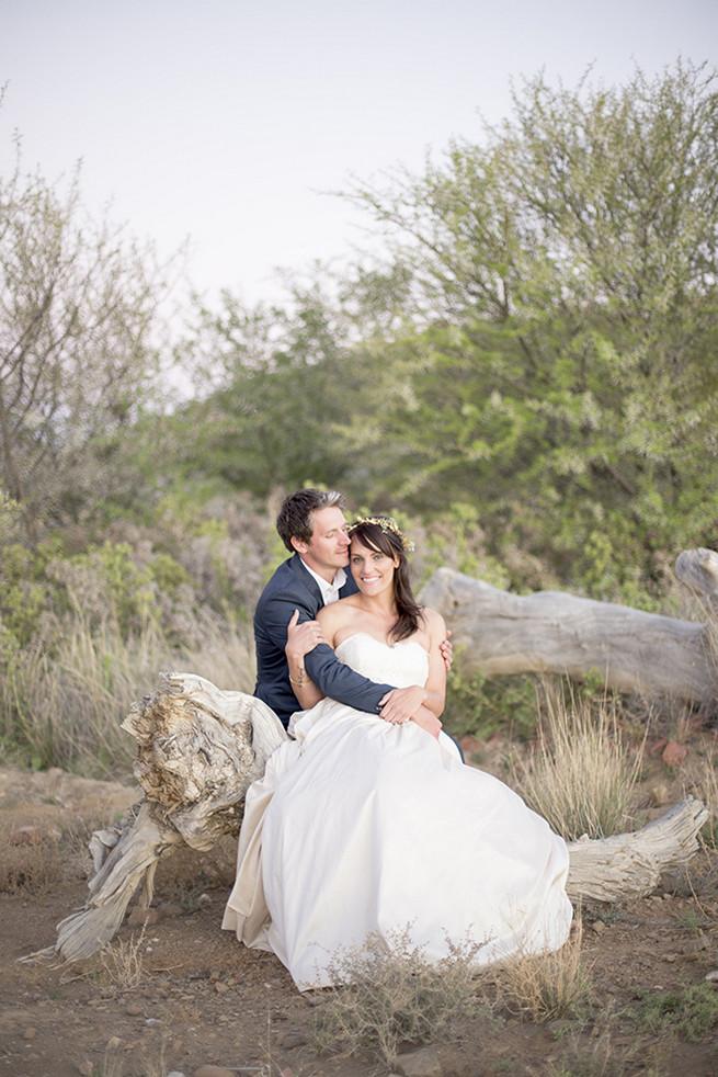 Couple wedding photographs // Organic Farm Style Karoo Wedding // christine Le Roux Photography
