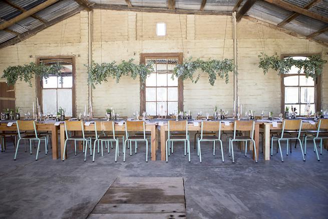 Barn reception // // Organic Farm Style Karoo Wedding // christine Le Roux Photography