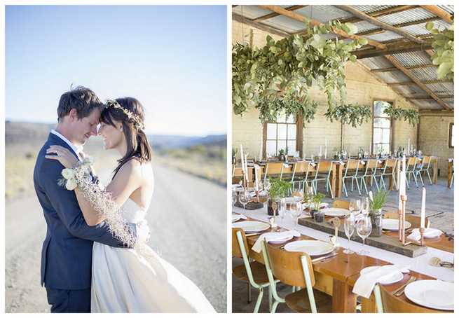 Organic Farm-Style Karoo Wedding {Christine Le Roux Photography}
