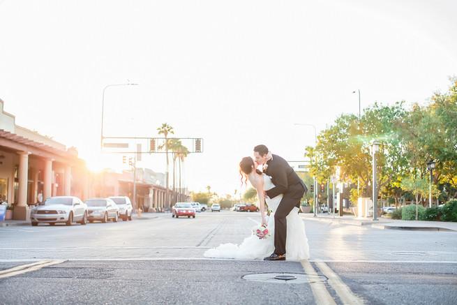 Modern Romance: Pink and Silver Wedding // Jessica Q Photography