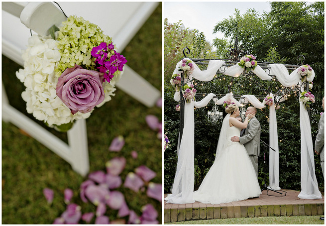 Purple and Gray Garden Wedding  (2)