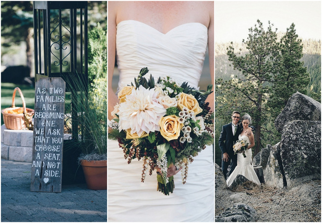Relaxed, Rustic & Woodsy Nevada Wedding {Lauren Lindley Photography}