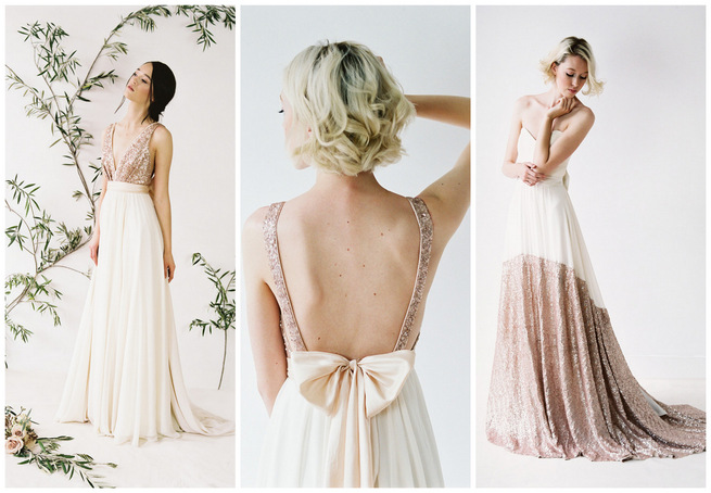 Glittering Truvelle Wedding Dress Collection & Interview {Blush Wedding Photography}