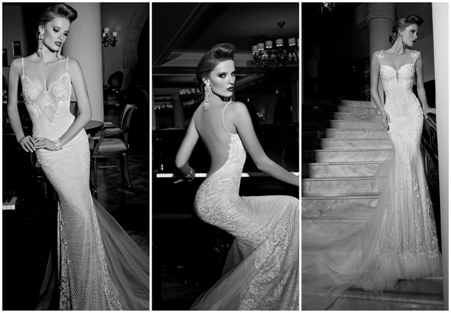 Sexy Wedding Dresses 2015 by Galia Lahav Haute Couture
